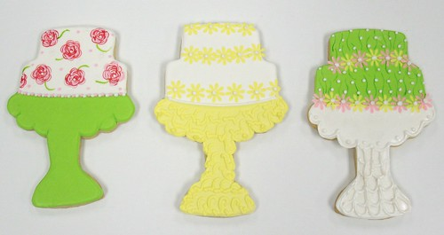[Image from Flickr]:Wedding Cake cookie favors