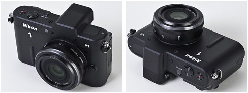Nikon 10mm f/2.8 mounted on the Nikon V1