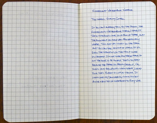 Kikkerland WritersBlok Notebook Review