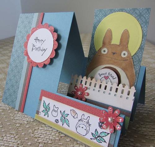 Totoro BD Card by acornbud