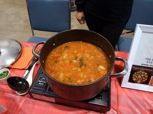 Vegan Chickpeas Power Soup
