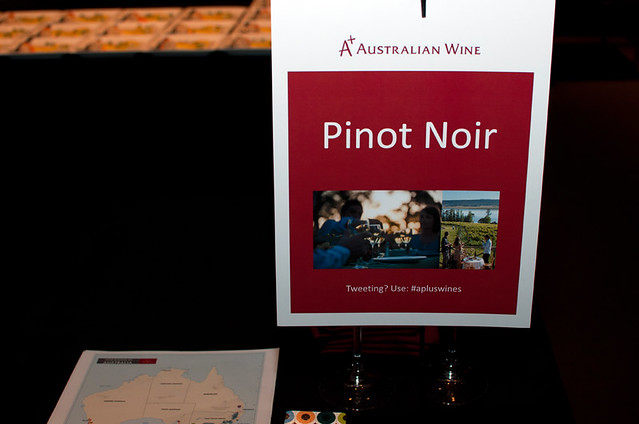 Pinot Noir table