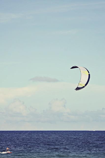 Fort Lauderdale beach kitesurfer 12