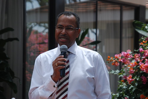 ILRI director general Jimmy Smith