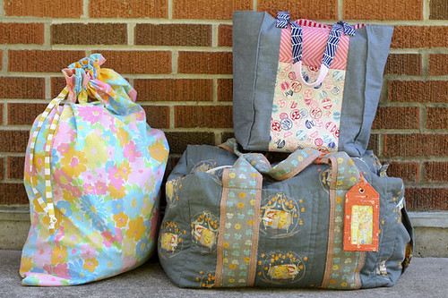 Traveling Handmade - Big bags by jenib320