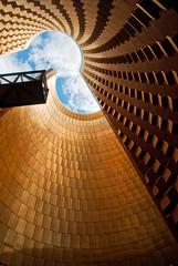 Vulcania (MarkE_T) Tags: architecture spiral golden vulcania pentaxk10d smcpentaxda1855mmf3556al