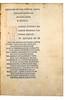 Pen-work initial in Ausonius, Decimus Magnus: Opera