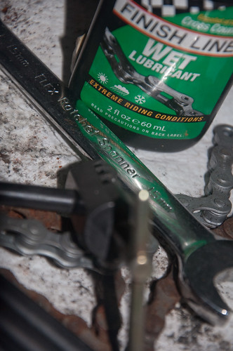 chain oil spanner project365