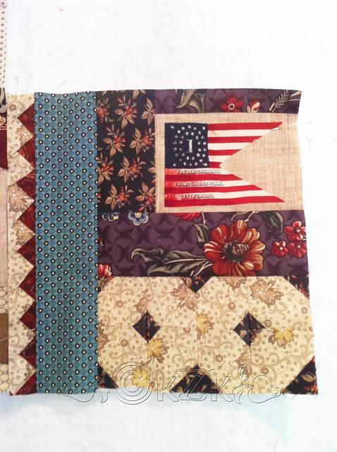 IMG_2882 Gettysburg Battle Flag quilt block