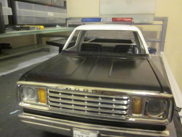 project dodge ram 1980s lapd