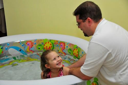 Elizabeth's Baptism, © Steve Webel