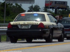FHP Slick-top (FormerWMDriver) Tags: blue light red trooper ford car sedan lights slick traffic state top low profile police victoria led stop cop vehicle vic crown flashing emergency patrol fhp floridahighwaypatrol slicktop cvpi