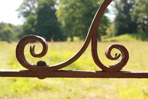 Old metal gate by Helen in Wales