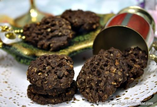 crunchy oats cookies