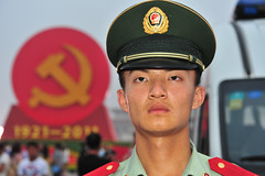 Happy 90th! (ojh98) Tags: china party man soldier beijing communist communism tiananmen pla