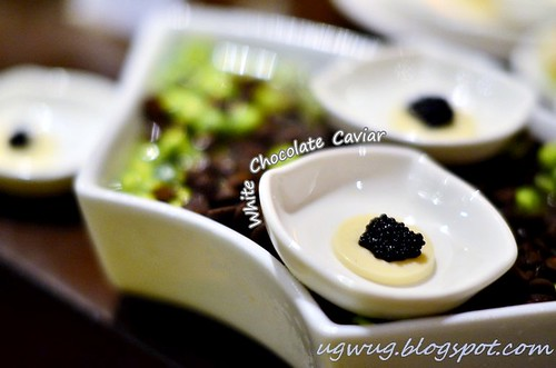 White Chocolate Caviar