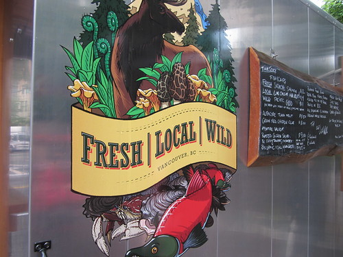 Fresh Local Wild (Food Cart, Burrard and Hastings)