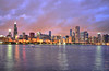 Chicago Skyline in HDR (Seth Oliver Photographic Art) Tags: chicago buildings reflections illinois nikon midwest nightimages nightlights skyscrapers iso400 searstower cities cityscapes lakemichigan lakeshoredrive citylights nightshots trumptower southloop highdynamicrange beautifulclouds pinoy downtownchicago johnhancockbuilding cookcounty nightscapes sheddaquarium chicagoskyline urbanscapes secondcity longexposures chicagoist cityskylines d90 nightexposures wetreflections cityofchicago urbanskylines 5secondexposure pseudohdr cityofbigshoulders hdrimages willistower aperturef38 setholiver1 twilightinchicago 18105mmnikkorlens chicagoboattours circularpolarizers tripodmountedshot nocturneimages shutterspeedprioritymode remotetrigerredshot singlefilehdrimages