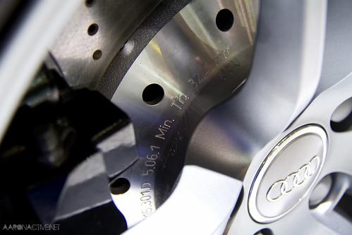 Audi R8 Rotor Specs