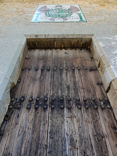 Door to the Church of St Jaume