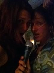 Lisa and I and weird hair