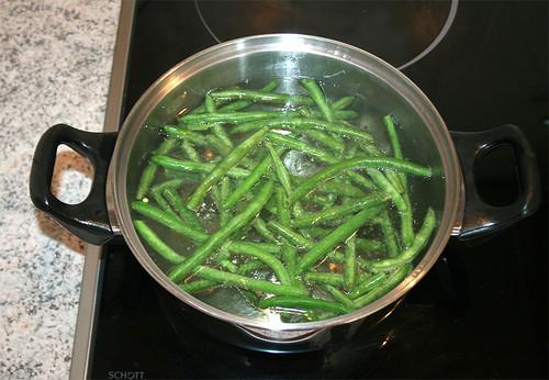 15 - Bohnen blanchieren