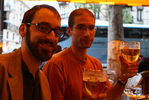 Matt and Nate on Belgian Beer Night #2