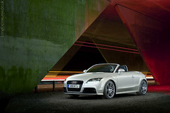Uncovered but Under Cover: Audi TT roadster TFSi (AndWhyNot) Tags: bridge light lightpainting black night painting underpass long exposure painted trails twin turbo series tt audi charge supercharger roadster turbocharger 8701 tfsi