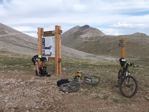 2011 Colorado Trail Race training: Sawatch Range, Mt Antero, Alpine Tunnel, Tin Cup Pass, St. Elmo