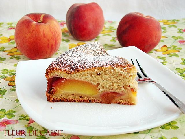 персиковый пирог с корицей 1
