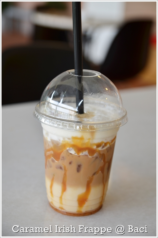 Caramel Irish Coffee Frappe