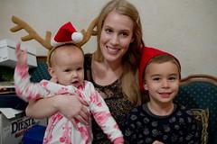 IMG_8439 (lilbuttz) Tags: santa christmas hat reindeer dora antlers pjs celeste