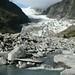 Em 1750 todo esse vale estava embaixo do glaciar