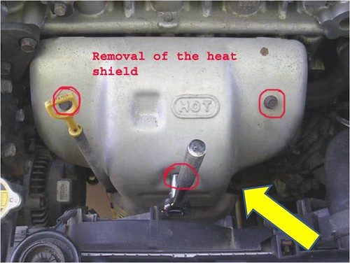 Hyundai Elantra Oxygen Sensor Location?