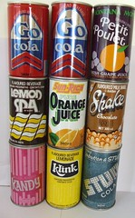 Vintage Soft Drink Cans - New Zealand (NZCollector) Tags: new promo lemon soft cola drink coke zealand lp packaging pepsi soda cans collectables promotional coca collectibles fanta collectable kiwiana paeroa