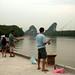 Roy pescando no rio de Krabi