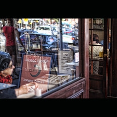 Coffee stop, Balmain (shastadaisy~) Tags: coffee canon reflections square cafe sydney stop balmain 330pm sbfmasterpiece sbfgrandmaster