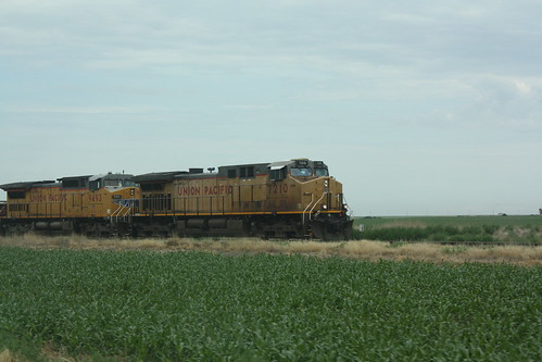 Train in Kansas