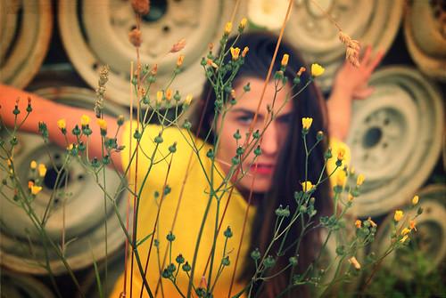 a ring of flowers by Viva Deva