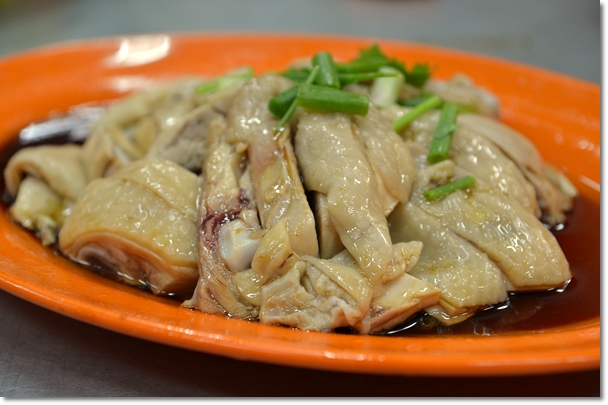 Poached Chicken - Tauge Ayam