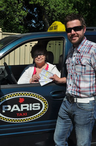 Matt Grahlman and New Taxiguy Partner Paris Taxi