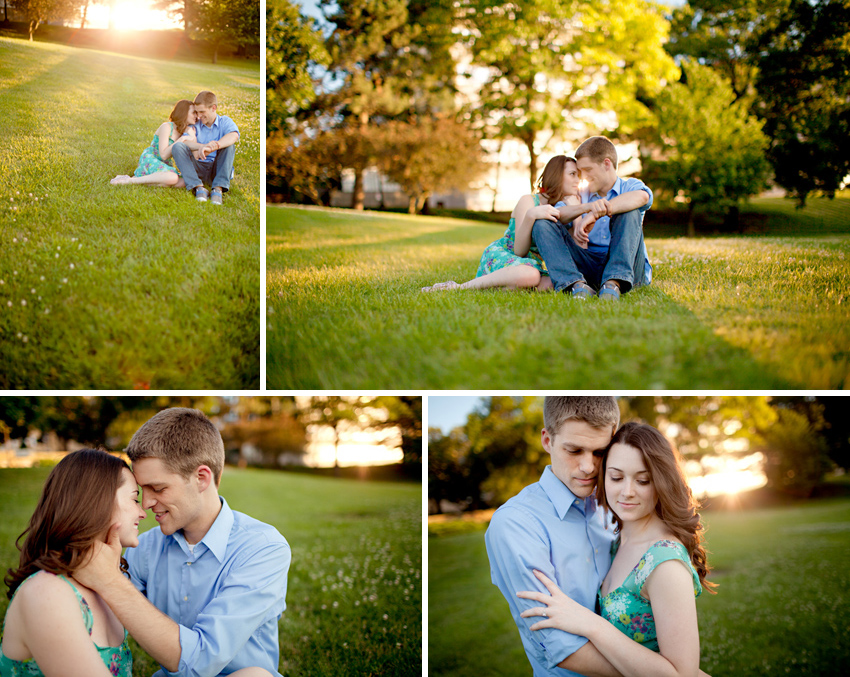 Kansas City wedding photographer-Lawrence engagement session