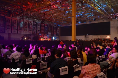 FHM 100 Sexiest VIP crowd
