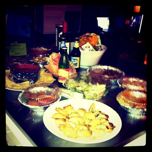 #tedglobal stream party spread (some)
