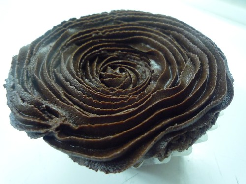 A study in Chocolate Brownie Cupcake
