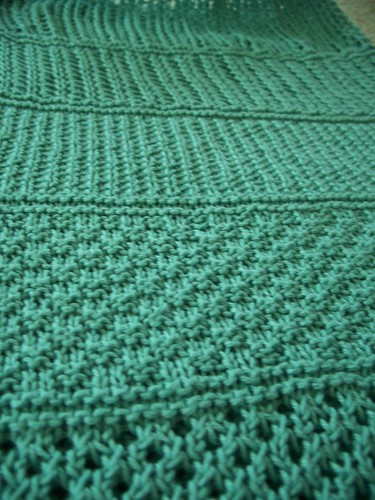 close up of stitch patterns