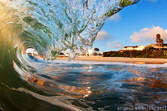 La Jolla 7.14.11 (D.Michelson) Tags: ocean california beach water la sand nikon san surf zoom barrel wave diego fisheye tokina housing spl jolla 1017 shorebreak d300