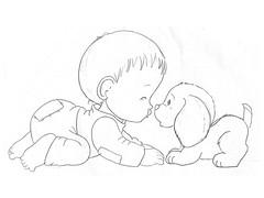 Risco Beb (Acrilex) Tags: art artesanato infantil desenhos artes risco riscos trao infantis acrilex