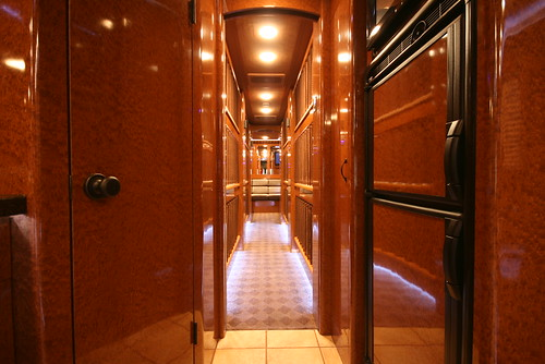 Hurricane - Bunk Hallway - facing rear