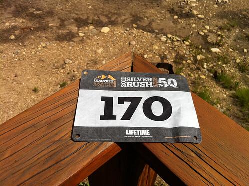 Leadville Silver Rush 50 Bib 2011